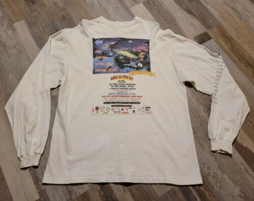 Vintage NASA See The Light Tour 1993 Band Shirt Mo