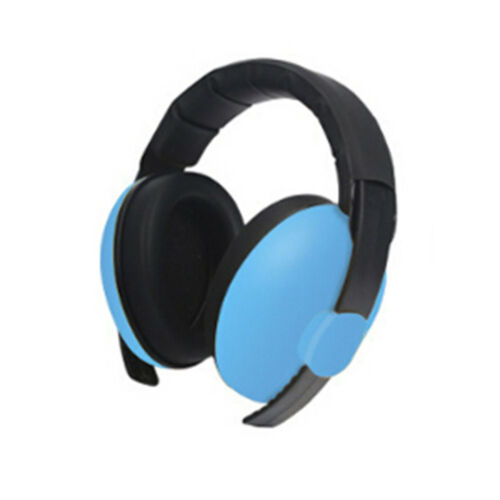 Kids childs baby ear muff defender noise reduction comfort festival protectio HD