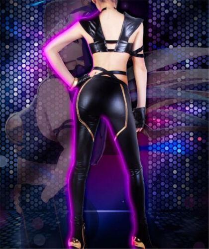 League of Legends KDA Kaisa//Ahri Fancy Uniform Women Cosplay Costume Full Suit