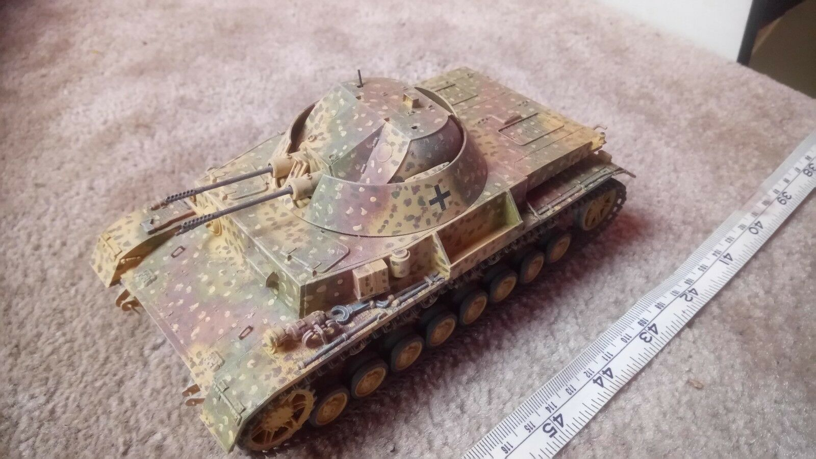 GERMAN PANZER IV FLAKPANZER KUyellowLITZ 1 35 PRO BUILT   MADE