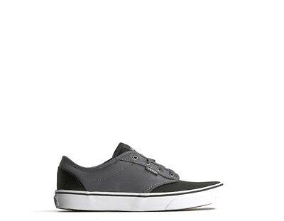 Attento Scarpe Vans Bambini Sneakers Nero/grigio Tessuto Va349pmf4