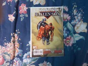 What If? Fallen Son 1 Civil War Captain America Iron Man [Marvel Comics, 2009] *