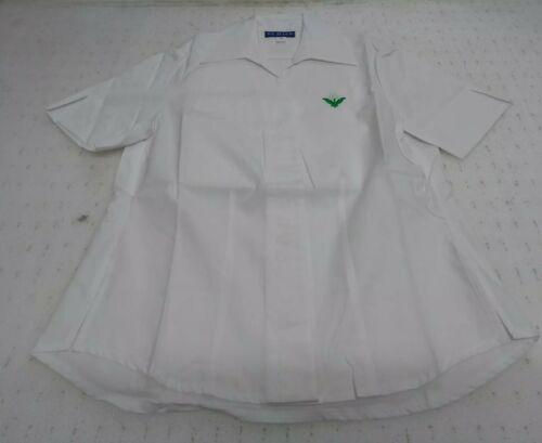 DE BAER Laides White Short Sleeve Blouse Cheltenham Ladies College UK28 BNIP