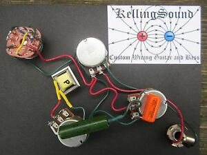 Outstanding Gibson Ripper Harness With Choke Bourns Pots Custom Kellingsound Ebay Wiring Digital Resources Indicompassionincorg