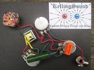 Swell Gibson Ripper Harness With Choke Bourns Pots Custom Kellingsound Ebay Wiring Cloud Intapioscosaoduqqnet