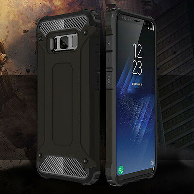 S9 S9+ For Samsung Galaxy S8 / S8 Plus Hybrid Rugged Armor Shockproof Case Cover