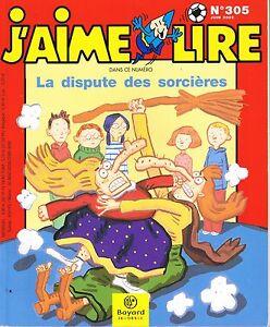 Couverture de J'aime lire ; dispute des sorcières n°305