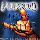 Long Live the Loud * by Powergod (CD, Jul-2005, Massacre)