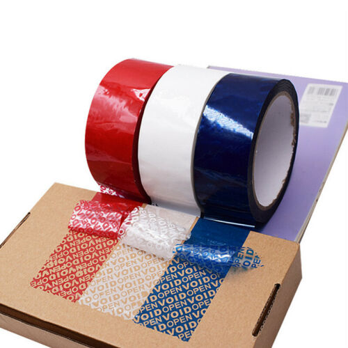 Details about  /50M Tamper Proof  Security Warranty Sticker Void Label Tape Seal Label Supplies
