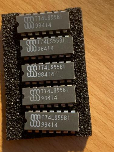 5x  SN74LS55B1  AND-NOR-Gatter 2x4  Eingänge DIP-14