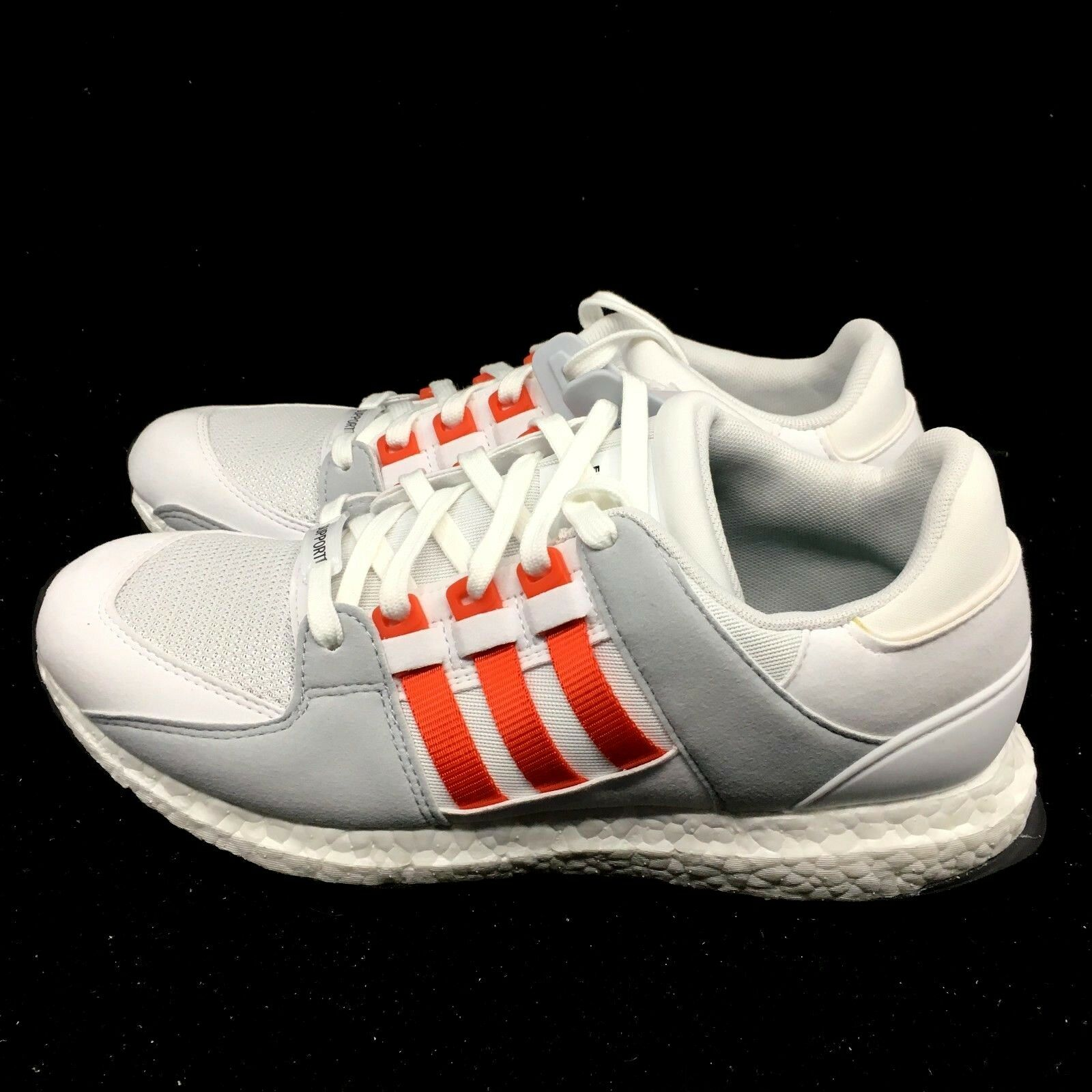 6441d4a70 New ADIDAS EQT SUPPORT ULTRA BOOST MENS SHOES White Bold orange ...