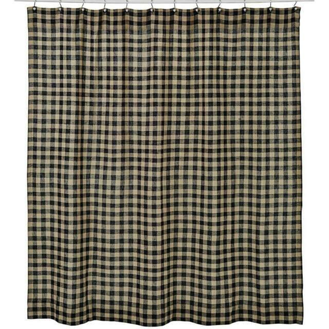 Rustic Primitive Shower Curtains For Sale Ebay