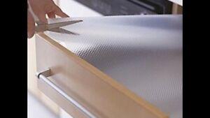 Details About Ikea Drawer Mat 59x19 Shelf Liner Cabinet Storage Pad Kitchen Rationell Variera