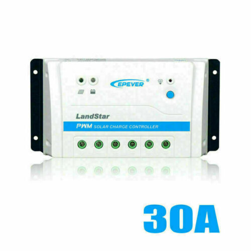 EPEVER 10A 20A 30A Solar Charge Controller Battery 12//24V Regulator LED or WIFI