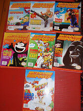 SET OF SEVEN 1992 NINTENDO POWER MAGAZINES JUNE/DECEMBER IN VERY GOOD CONDITION