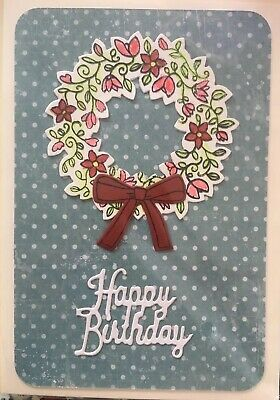 Geburtstagskarte mit stampin up