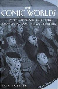 The-Comic-Worlds-Of-Peter-Arno-William-Steig-Charles-Addams-Saul-Steinberg-Book
