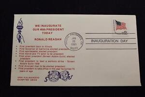 Patriotische-Abdeckung-1981-Maschine-Stempel-Inauguration-Tag-Pres-Ronald-Reagan