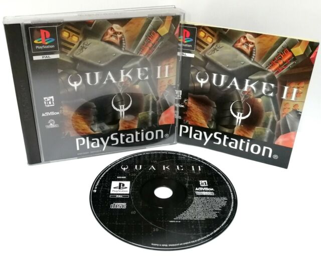 Quake II 2 ~ Sony Playstation ps1 Black Label Spiel ~ PAL * sehr gut komplett *