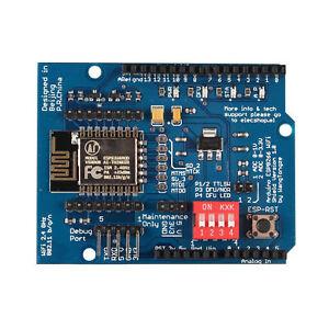 2PCS UNO R3 ESP8266 Serial WiFi Shield Extend Module With ESP-12E CC3000 new