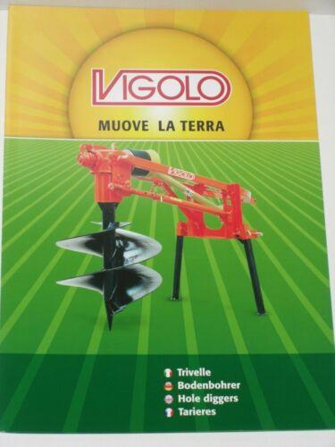 990 VIGOLO Bodenbohrer Prospekt von 10//2016