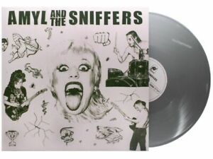AMYL-AND-THE-SNIFFERS-Ltd-Edition-039-Chrome-Angel-Edition-039-SILVER-Vinyl-LP-NEW