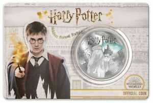 2020-HARRY-POTTER-Dumbledore-Half-Dollar-Silver-Plated-Coin-on-Card