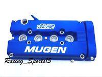 Mugen Style Engine Valve Cover For B16 B18 B20 Honda Civic Si Dohc Vtec -blue