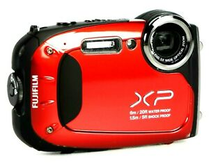 Fujifilm FinePix XP60 16.4MP Digital Camera HD 1080i/60fps + Soft Case