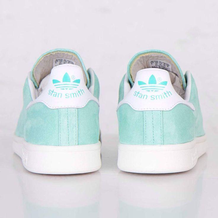 Adidas Originals Stan Smith Mint verde Bahia Mist bianca  S80031 Men scarpe sz 10.5  benvenuto per ordinare