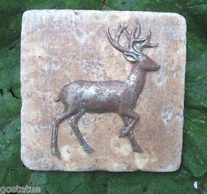 Plaster-cement-deer-plastic-tile-mold