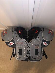 Never Worn! Gear Pro-Tex X2 Air X-SOBF Football Shoulder Pads