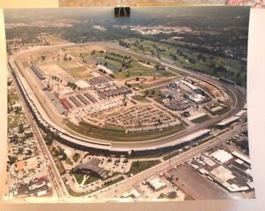 INDY-500-INDIANAPOLIS-SPEEDWAY-AERIAL-PHOTOGRAPH-LARGE-20-X-24-EXCELLENT-2000
