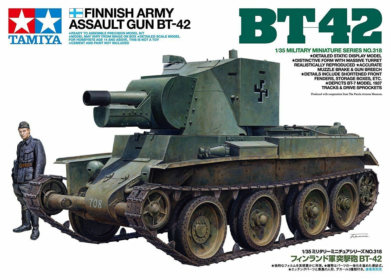 1 35 Tamiya Finnish Army Assault Gun BT-42