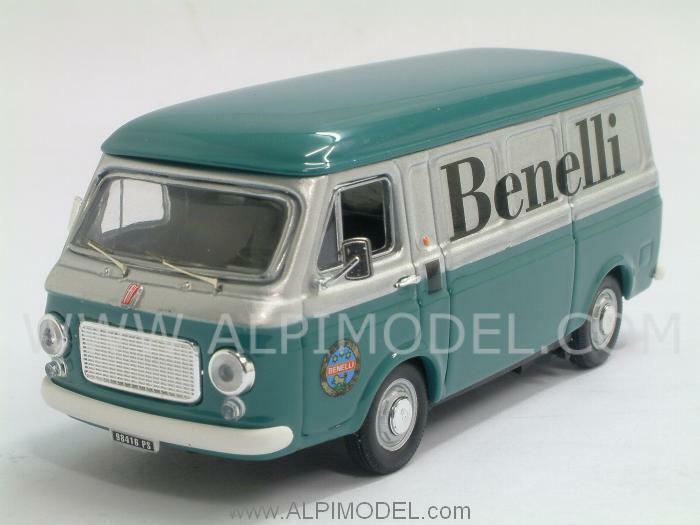 Fiat 238 Benelli trasporto moto 1970 1 43 RIO 4381