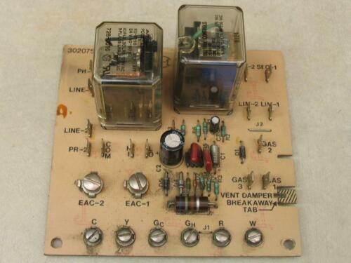 Carrier Bryant OEM Circuit Control Board 302075-302