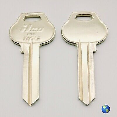 2 Keys 1011-L4 Key Blanks for Various Products by Corbin and Russwin