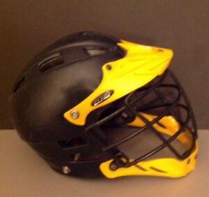 Black-Yellow-CASCADE-CLH-2-Lacrosse-Helmet-MLL