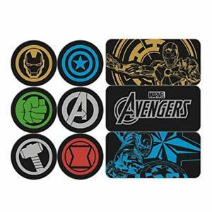 Marvel-Avengers-Epoxy-Aimant-Set-Equipe-Iron-Man-Et-Captain-America