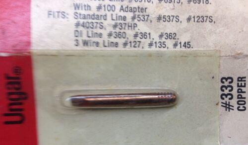 """UNGAR # 333 COPPER 1//8/"""" Thread-In Pencil TIP 537 537S 1237S 4037 SURPLUS"""
