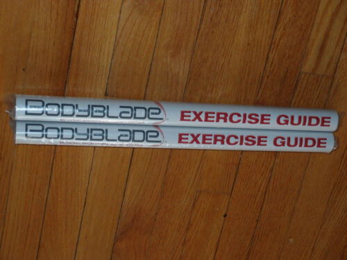NEW POSTER ONLY Bodyblade Body Blade Exercise guide 30 Dynamic exercises 1