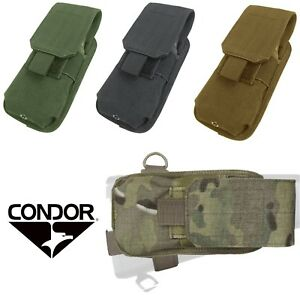 Condor MA59 Buttstock Stock Mounted Single 5.56/.223 Rifle Magazine Mag Pouch