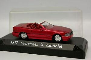 Solido-1-43-Mercedes-SL-Cabriolet-Rouge