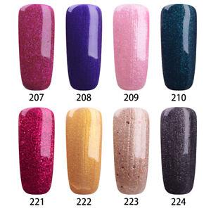 RS-Per-Unghie-UV-LED-Gel-Smalto-Soak-Off-lady-ibrido-Gel-Glitter-Colore-Fantasia-15ml