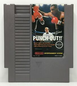 NES-Mike-Tyson-039-s-Punch-Out-Video-Game-Cartridge-Authentic-Cleaned-Tested