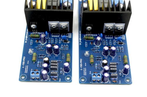 One pair V1.0  L15D Pro Power amplifier board 150W+150W Hifi Amp board      L9-6