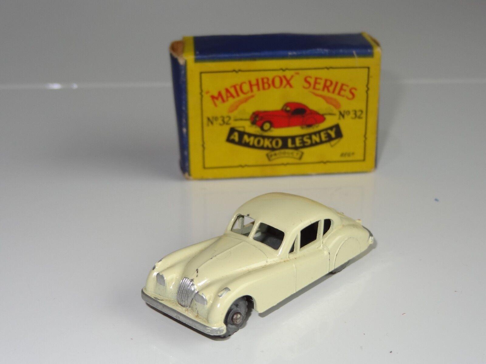 (e) LESNEY MATCHBOX JAGUAR XK140 - 32