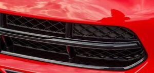 Corvette C7 Stingray Black Carbon Flash Metallic Grille