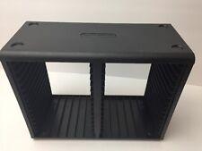 Openstock 30 Disc Jewel Case CD Storage Holder Desk Organizer Shelf Stand