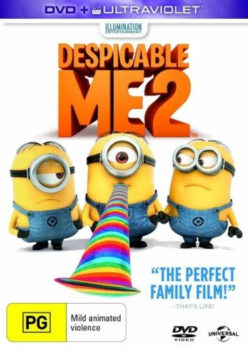 1 of 1 - Despicable Me 2 (DVD, 2013)